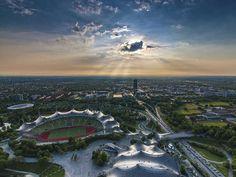 Sube a la Torre Olímpica de Munich y admira el Olympiapark (Alemania)