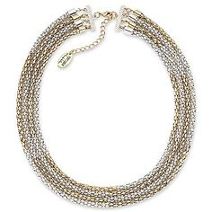 nicole by Nicole Miller® 4-Row Coil Necklace