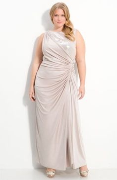 Plus Size Embellished Paneled Sheath Dress This style, called a ...