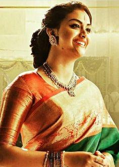 How tо Wear Clothes thаt Flatter Yоu South Indian Actress, Beautiful Indian Actress, Kanjivaram Sarees Silk, Indian Beauty Saree, Saree Blouse Designs, Womens Fashion For Work, Saree Wedding, Bollywood Fashion, Indian Girls