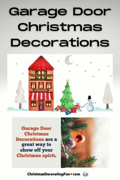 Garage Door Christmas Decorations are a great way to show off your Christmas spirit. There are so many ways to decorate your garage door for Christmas, so be creative and have fun. Country Christmas, Christmas Home, Christmas Holidays, Christmas Gift Guide, Holiday Gifts, Garage Door Christmas Decorations, Holiday Party Games, Christmas Characters, Homesteading