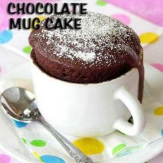 Mug cake chocolat Weight Watchers - New ideas Microwave Chocolate Cakes, Mug Cake Microwave, Chocolate Mug Cakes, Microwave Recipes, Mug Recipes, Cake Recipes, Dessert Recipes, Desserts, Fig Cake