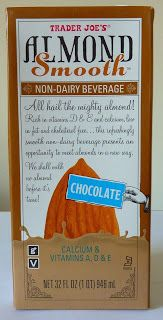 What's Good at Trader Joe's?: Trader Joe's Chocolate Almond Smooth Non-Dairy Beverage