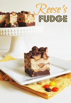 Spend only 15 minutes putting together this delicious Reese's Fudge recipe.  It's so good and it's sure to be a hit!