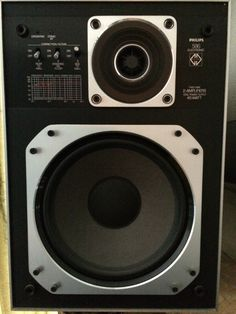 PHILIPS 586 Electronic Two Way MFB speaker