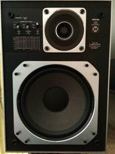 PHILIPS 586 Electronic Two Way MFB speaker