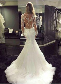 36 Chic Long Sleeve Wedding Dresses | Wedding | Pinterest | Wedding ...