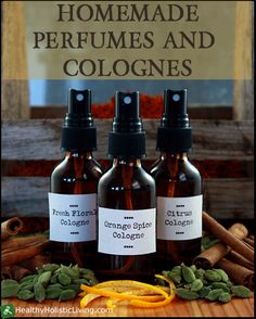 Did you know that most perfumes and colognes are manufactured using synthetic chemicals, even petroleum? Many of these ingredients do not need to be listed on the labels, but are known allergens, hormone disruptors, and irritants - try making your own homemade perfume