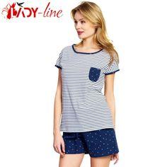 Poze Pijamale Vienetta Secret, Bumbac 100%, 'Sea Breeze' Breeze, The 100, Sea, Lady, Tops, Women, Fashion, Moda, Fashion Styles