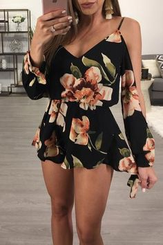 Our Dora Romper is back 😍😍😍 Cute Casual Outfits, Girly Outfits, Cute Summer Outfits, Pretty Outfits, Pretty Dresses, Stylish Outfits, Casual Dresses, Summer Dresses, Floral Dress Outfits