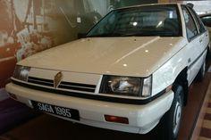 1989 UK's car of the year, Malaysian built Proton Saga.