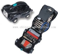 Combination tool set/flashlighter from China