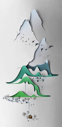 Vertical landscape... by Eiko Ojala. See more here (or click the image): http://www.justfollowthewhiterabbit.com