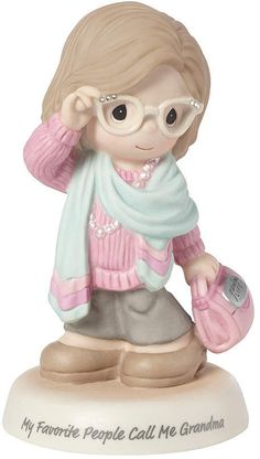 Buy Precious Moments Favorite People Call Me Grandma Bisque Porcelain Figurine, One Size, Multi online - Toocutefashion Disney Precious Moments, Precious Moments Figurines, Yorkshire, Porcelain Jewelry, Porcelain Vase, Painted Porcelain, Fine Porcelain, Collectible Figurines, Disney Figurines