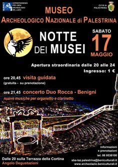 Museo Archeologico Nazionale di Palestrina - Notte dei Musei #ndm14 #ndm14italia #roma
