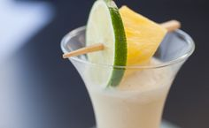 #Epicure Coconut Pina Colada Cocktail Cocktails Made With Rum, Sweet Cocktails, Easy Cocktails, Pineapple Rum, Crushed Pineapple, R65, Pina Colada, Epicure Recipes, Cocktail Ingredients