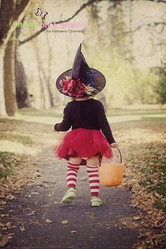Kids Halloween Costumes:  Toddler Witch