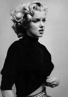 "missmonroes: "" Marilyn Monroe photographed by Ben Ross, 1953 """
