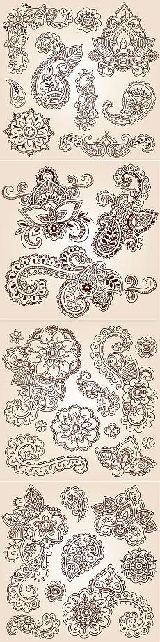 679 En Iyi Kalip Goruntusu 2019 Embroidery Patterns Arabesque