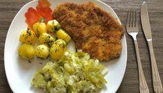 Kotlety schabowe z musztardą i majonezem Risotto, Mashed Potatoes, Grains, Tacos, Eggs, Meat, Chicken, Cooking, Breakfast