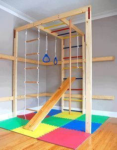 DreamGYM Indoor Jungle Gym Do-It-Yourself Kit https://kidsdreamgym.com/products-page/basic-jungle-gym/dreamgym-indoor-jungle-gym-do-it-yourself-kit #indoorplayhousekits