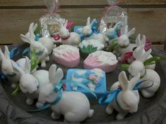 Bunny and Easter Soaps by Bloom Decorative Soaps at The Jealous Gardener
