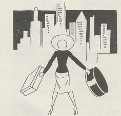 """Ha! Redditor """"unmoderated"""" dug up a gem from the past—a 1939 guide for women visiting New York City. Lee Mortimer wrote New York: Behind the Scenes as a guide for all travelers to the Big Apple, but also included asection titled""""Young Lady in Manhattan…"""" for the bevy of small town gals hoping to hit the big time in the big city.  The helpful advice includes tidbits like:  """"Unescorted ladies might as well hang themselves after ten p.m. You can go to a movie or get an ice cream soda—but…"""