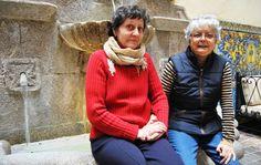 Paulina y Encarnita, pareja desde hace 43 años, vuelven a Extremadura para aplaudir el nacimiento de la Ley LGTBI / @eldiarioex | #readyforequality