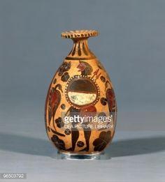 Stock Photo : 6th Century B.C., UK, London, British Museum, Etruscan art