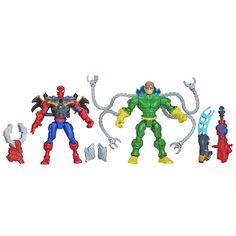 Marvel Super Hero Mashers Dr. OCK Vs. Spider-Man Mash Pack