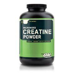 #8: Optimum Nutrition Creatine Powder, Unflavored, 600g