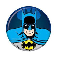 Batman Head Large Button