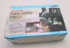 Griffin Baby Products: Adjustable Baby Car-seat Safety Mirror -New, Dented Box  #Griffin