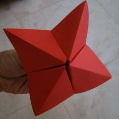 HOW TO MAKE A CLASSIC COOTIE CATCHER, FORTUNE TELLER, WHATEVER YOU CALL IT.