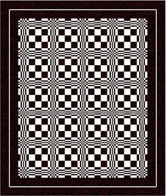 Quilt illusions | Optical Illusions 3 Quilt « Patchworkmaniac's Blog