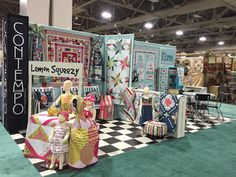 Sew in Love {with Fabric}: Quilt Market Booth Tour: Contempo