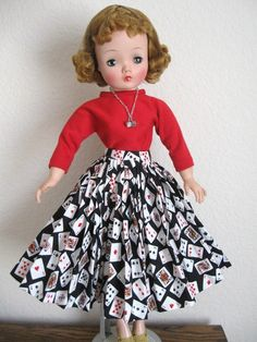 Cissy as LUCKY LADY. Outfit by DollDreamsByNatalie.