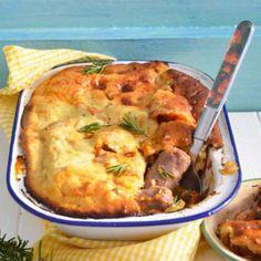 Sausage Pie #Dinner