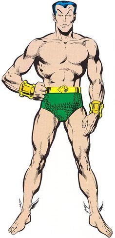 Namor the Submariner - Marvel Comics - Character Profile
