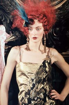 1998 - Galliano 4 Dior Couture show - Chrystele St Louis