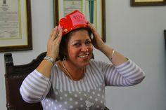 La rectora del colegio fue elegida la Reina Consentida.