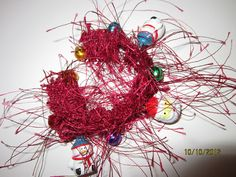 Santa Jingle Bells  Whispy Bracelet by jeepbut on Etsy, $15.99