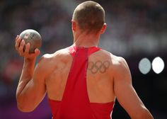 Trey Hardee (United States) - 50.13ft (5th in stage), Men's Decathlon, Track and Field (Shot Put) #Olympics tattoos
