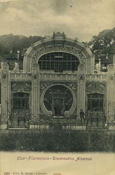 Il Liberty in Itlaia si riscopre anche nella città di Altare in provincia di Savona. Entra sul sito e scopri il teatro Art Nouveau...