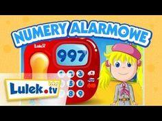 Numery alarmowe dla dzieci I Lulek.tv - YouTube