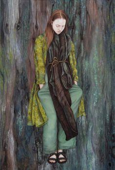 Необычная живопись от немецкой художницы Moki Mioke.