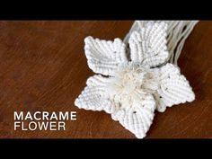 Lots of Knots Canada Macrame Colar, Macrame Art, Macrame Projects, Micro Macrame, Macrame Jewelry, Macrame Tutorial, Flower Tutorial, Macrame Patterns, Flower Patterns