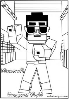 minecraft ocelot to coloring pages - photo#22