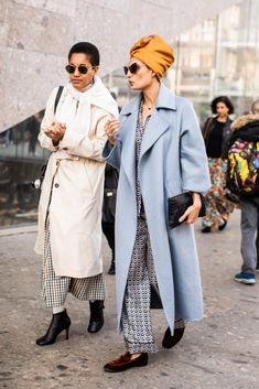 New York Fashion Week Delivered All the Street Style You've Been Waiting For Street Style Trends, Nyc Street Style, Street Style Fashion Week, Looks Street Style, Milan Fashion Weeks, Fashion 2017, New York Fashion, Look Fashion, Winter Fashion