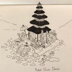 Bali  Pura Ulun Danu . . #bali #puraulundanu #illustration #editorial #editorialillustration #kuvitus #иллюстрация #bali #agung #eruption #instaartist #instaart #graphic #illustrationinstagram #art #drawing #digitalart #creative #art #ink #artist #pencil #pen #inspiration #журнал #lehtikuvitus #photoshop